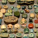 Egyptians Amulets by Ommik