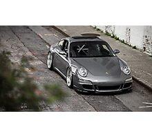 Slammed 911 Porsche Photographic Print