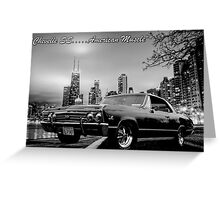 Chevelle SS...American Muscle Greeting Card