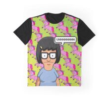 Tina Belcher Unicorn Pattern  Graphic T-Shirt
