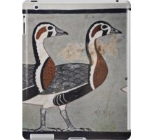 Painting of Egyptian Geese iPad Case/Skin