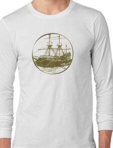 The Golden Age Of Seafarers Long Sleeve T-Shirt