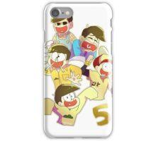 5 Jyuushimatsu iPhone Case/Skin