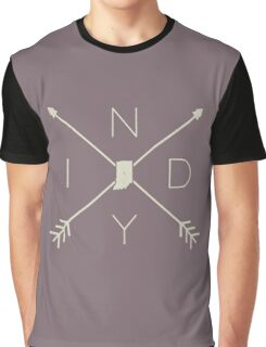 Indiana INDY Crossed Arrows Graphic T-Shirt