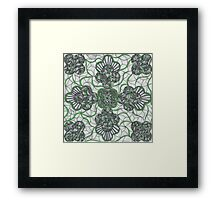 Tie a Green Ribbon Framed Print