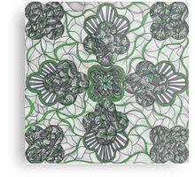 Tie a Green Ribbon Metal Print