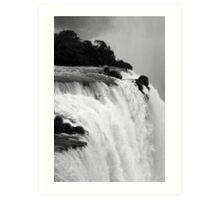 Breathtaking falls Art Print