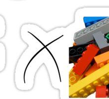 Yuan x Exactly 53 Legos Sticker