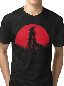 RENAMON RED MOON Tri-blend T-Shirt