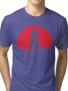 RENAMON RED MOON Tri-blend T-Shirt