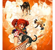 Juggling Cats Photographic Print