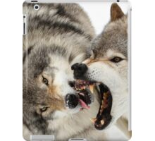 Laying down the law iPad Case/Skin