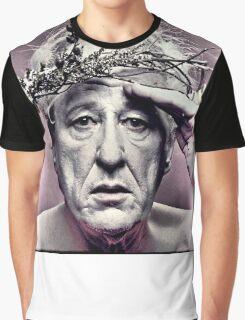 Geoffrey Rush. Poster Graphic T-Shirt