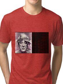 Geoffrey Rush. Poster Tri-blend T-Shirt