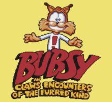Bubsy (SNES) Title Screen Kids Tee