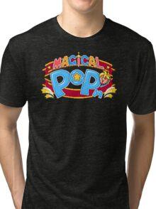 Magical Pop'n (SNES) Title Screen Tri-blend T-Shirt