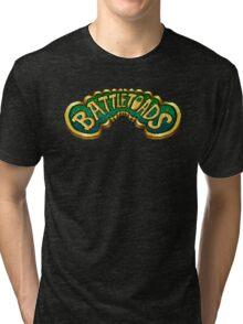 Battletoads (NES) Title Screen Tri-blend T-Shirt