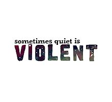 Sometimes Quiet is Violent - Car Radio by Twenty One Pilots by mchannahbanana