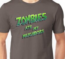 Zombies Ate My Neighbors (SNES\Genesis) Title Screen Unisex T-Shirt