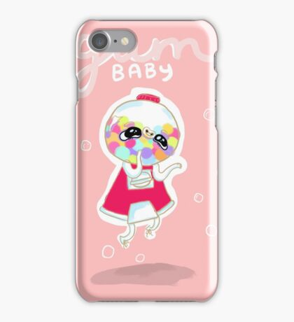 Gum Baby iPhone Case/Skin