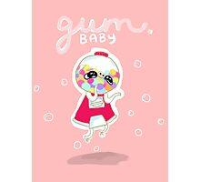 Gum Baby Photographic Print