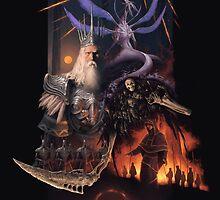 Retro Dark Souls by CAINHURST
