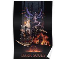 Retro Dark Souls Poster