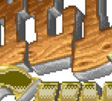 Wild Guns (SNES) Title Screen Sticker