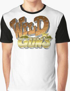 Wild Guns (SNES) Title Screen Graphic T-Shirt