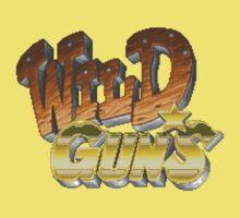 Wild Guns (SNES) Title Screen Baby Tee