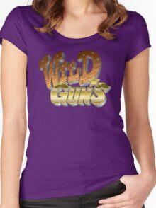 Wild Guns (SNES) Title Screen Women's Fitted Scoop T-Shirt