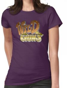 Wild Guns (SNES) Title Screen Womens Fitted T-Shirt