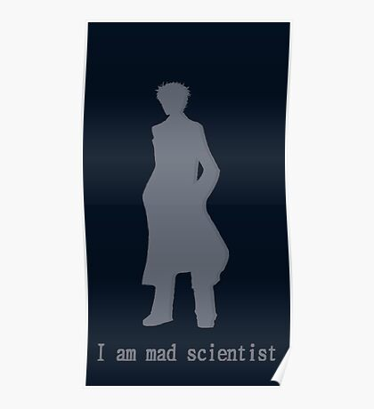 I am mad scientist Poster