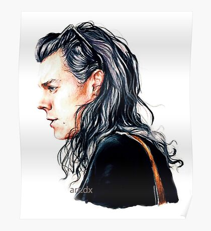 Mr curly styles Poster