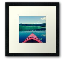 The Inlet  Framed Print