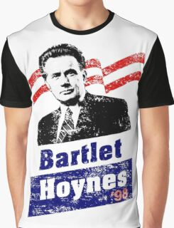 Bartlet/Hoynes '98 - West Wing Campaign T-Shirt Graphic T-Shirt