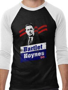 Bartlet/Hoynes '98 - West Wing Campaign T-Shirt Men's Baseball ¾ T-Shirt