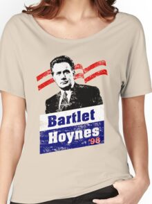 Bartlet/Hoynes '98 - West Wing Campaign T-Shirt Women's Relaxed Fit T-Shirt