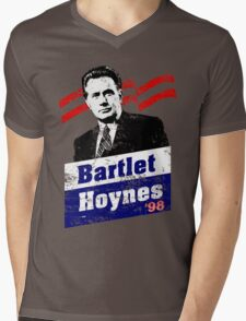 Bartlet/Hoynes '98 - West Wing Campaign T-Shirt Mens V-Neck T-Shirt