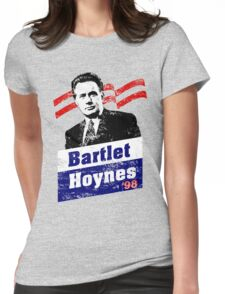 Bartlet/Hoynes '98 - West Wing Campaign T-Shirt Womens Fitted T-Shirt