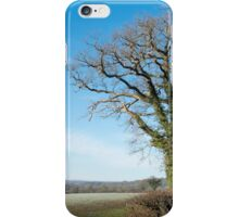 Derbyshire Countryside Winter England  iPhone Case/Skin