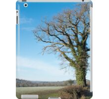 Derbyshire Countryside Winter England  iPad Case/Skin