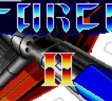 Thunder Force 2 (Genesis) Title Screen Sticker