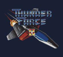 Thunder Force 2 (Genesis) Title Screen Kids Tee