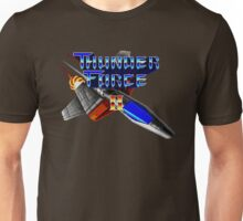 Thunder Force 2 (Genesis) Title Screen Unisex T-Shirt