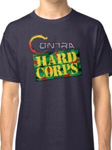 Contra Hard Corps (Genesis) title Screen Classic T-Shirt