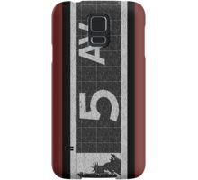 Fifth Avenue New York City Street Sign Deco Swing  Samsung Galaxy Case/Skin