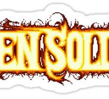 Alien Soldier (Genesis) Title Screen Sticker