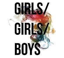 Girls/Girls/Boys Panic! At The Disco Photographic Print