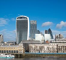 City of London Four Famous Buildings by Martin Berry Photography